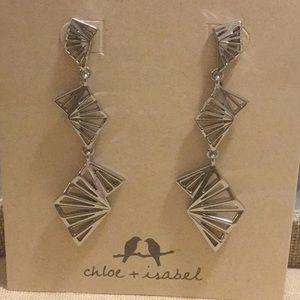 Chloe and Isabel Kumiko statement earrings